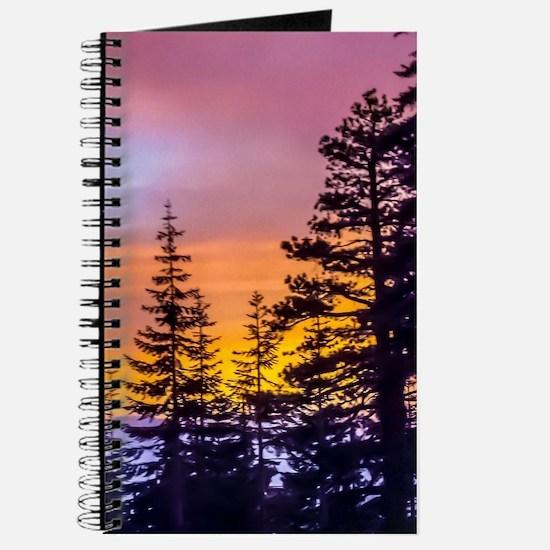 Evergreen Sunset Journal