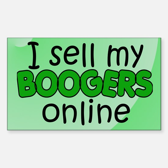 Boogers 2 Rectangle Decal