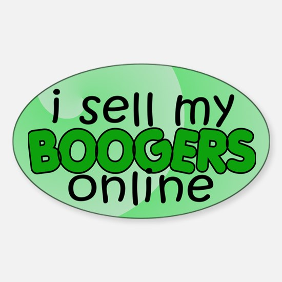 Boogers 2 Oval Decal