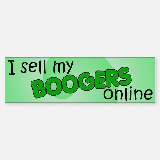 Boogers 2 Bumper Bumper Bumper Sticker