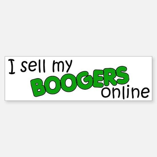 Boogers Bumper Bumper Bumper Sticker