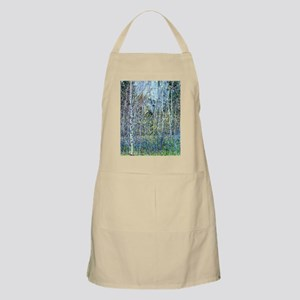 Trees on a Cold Autumn Day Apron