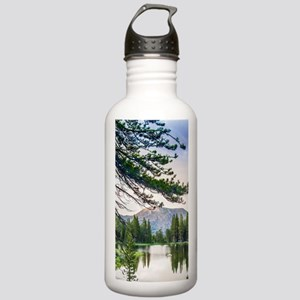 Peaceful Mountain Pond Stainless Water Bottle 1.0L