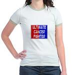 'Ultimate Cancer Fighter' Jr. Ringer T-Shirt