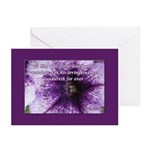 Psalm 136:4 Greeting Cards (Pk of 20)