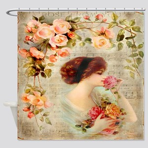 Rose from you Shower Curtain