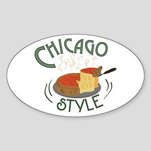 Chicago Sign Sticker