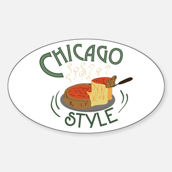 Chicago Sign Decal