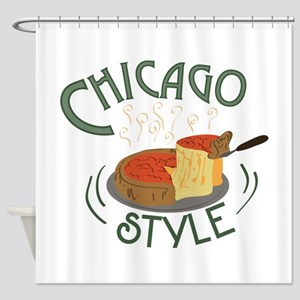 Chicago Sign Shower Curtain