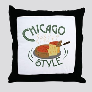 Chicago Sign Throw Pillow
