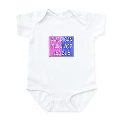 'American Survivor League' Infant Bodysuit