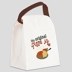 Original Pizza Pie Canvas Lunch Bag
