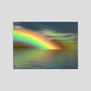 Rainbow 005 5'x7'Area Rug