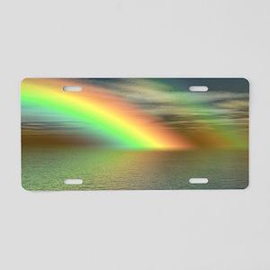 Rainbow 005 Aluminum License Plate