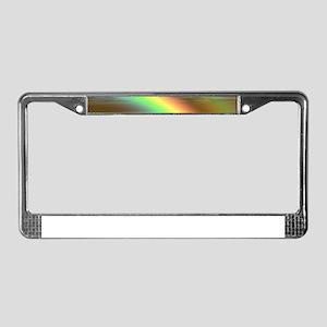 Rainbow 005 License Plate Frame