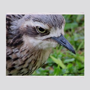 Curlews Head Throw Blanket