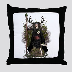 Hedge Witch ~ Hetty Throw Pillow