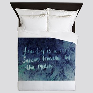 'Freedom is a road seldom travelled by Queen Duvet