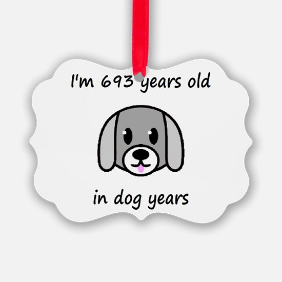 99 dog years 2 - 2 Ornament