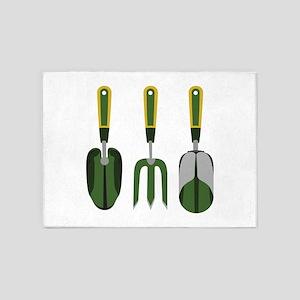 Garden tools 5'x7'Area Rug
