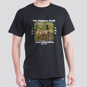 Yellowstone Wolf Pup Apparel Dark T-Shirt