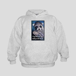 Raccoon Coat Kids Hoodie