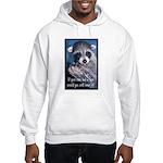 Raccoon Coat Hooded Sweatshirt