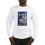 Raccoon Coat Long Sleeve T-Shirt