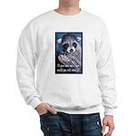 Raccoon Coat Sweatshirt