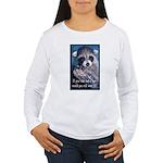 Raccoon Coat Women's Long Sleeve T-Shirt