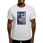 Raccoon Coat Light T-Shirt