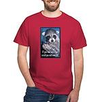 Raccoon Coat Dark T-Shirt