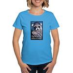 Raccoon Coat Women's Dark T-Shirt