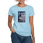 Raccoon Coat Women's Light T-Shirt