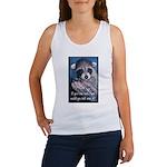 Raccoon Coat Women's Tank Top