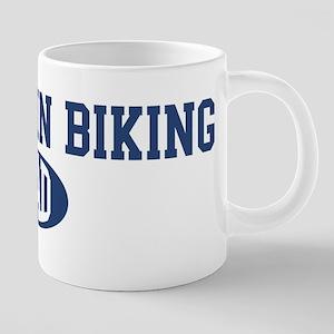 Mountain Biking dad Mugs