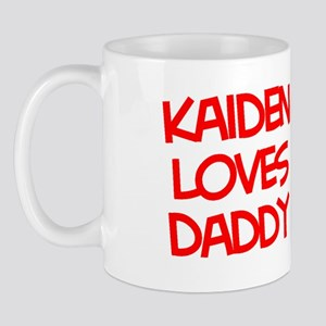 Kaiden Loves Daddy Mug