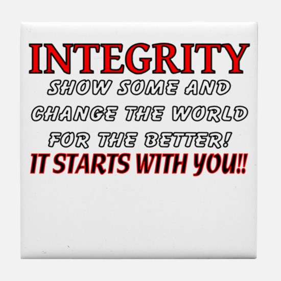 Integrity Design Tile Coaster
