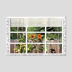 Garden View Mini Poster Print