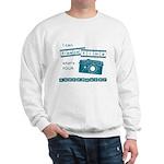 superpower blue2 Sweatshirt