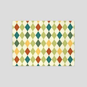 Paxton Argyle Pattern 5'x7'Area Rug
