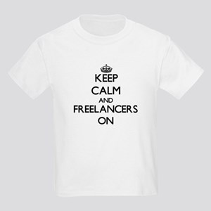 Keep Calm and Freelancers ON T-Shirt