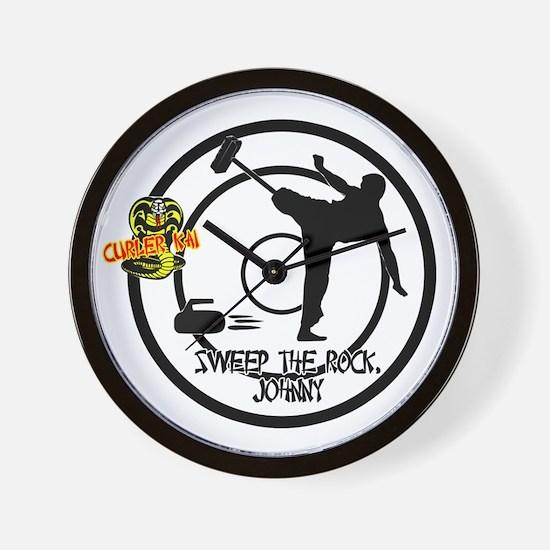 Johnny Rock Wall Clock