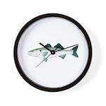 European Seabass Bass Wall Clock