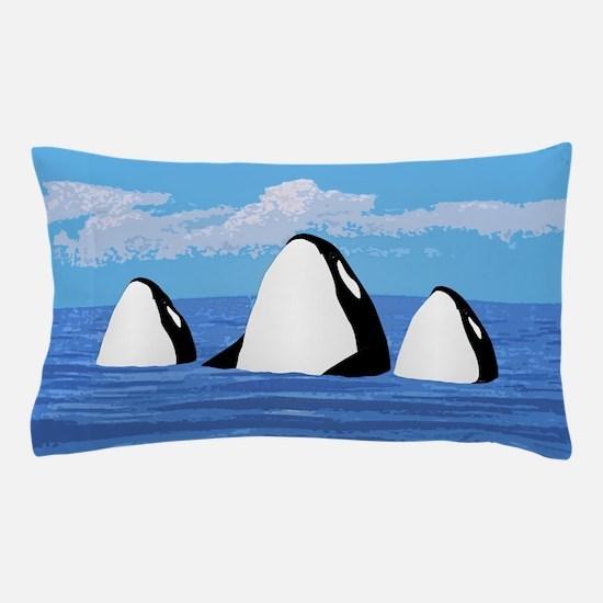 Orcas Pillow Case