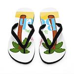 Beach Love Flip Flops