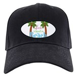 Beach Love Baseball Hat