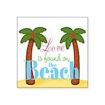 Beach Love Sticker