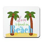 Beach Love Mousepad