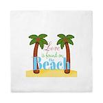 Beach Love Queen Duvet